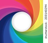 Colorful Swirl Background...