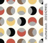 seamless geometric pattern.... | Shutterstock .eps vector #2031429851