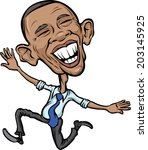 america,barack,caricature,cartoon,character,democracy,drawing,editorial,elected,emotion,expression,flying,government,happy,humor