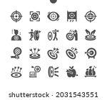 target. dartboard  aim  goal....   Shutterstock .eps vector #2031543551
