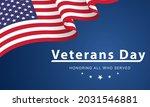 veterans day. honoring all who... | Shutterstock .eps vector #2031546881