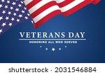 veterans day. honoring all who... | Shutterstock .eps vector #2031546884