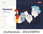 business topics   payments  web ...   Shutterstock .eps vector #2031548954