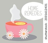 Home Remedies Illustration With ...