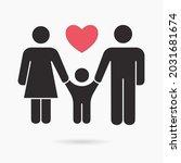 family icon. vector... | Shutterstock .eps vector #2031681674
