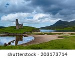 Ardvreck Castle Reflections In...