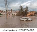 The Rise Of A River Flooded A...