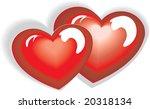 vector heart | Shutterstock .eps vector #20318134