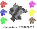 kitzingen district  federal... | Shutterstock .eps vector #2031860897