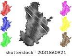 kronach district  federal... | Shutterstock .eps vector #2031860921
