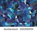 dark blue texture made from...   Shutterstock . vector #203200594