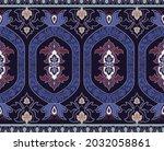 decorative ornamental border.... | Shutterstock .eps vector #2032058861