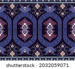 decorative ornamental border.... | Shutterstock . vector #2032059071