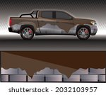 car livery wrap decal  rally... | Shutterstock .eps vector #2032103957