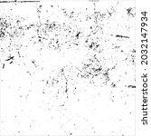 grunge black and white splashes ... | Shutterstock .eps vector #2032147934