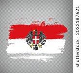 flag of vienna brush strokes....