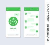chat bot mobile application...