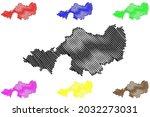 lindau district  federal... | Shutterstock .eps vector #2032273031
