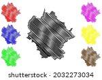 limburg weilburg district ... | Shutterstock .eps vector #2032273034