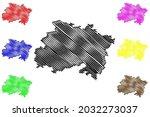 lichtenfels district  federal... | Shutterstock .eps vector #2032273037