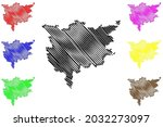 ludwigsburg district  federal... | Shutterstock .eps vector #2032273097