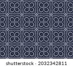 Navy Ink Pattern. American...