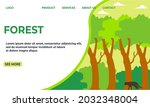 forest landing page templates...