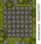 stone grass ui background  game ...