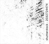 grunge black and white splashes ... | Shutterstock .eps vector #2032724474