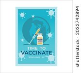 Injector And Vaccine Vintage...