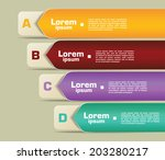banner infographic elements