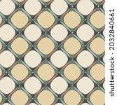 seamless geometric pattern.... | Shutterstock .eps vector #2032840661