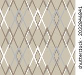 seamless geometric pattern.... | Shutterstock .eps vector #2032846841