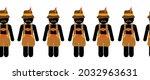 oktoberfest border lederhosen...   Shutterstock .eps vector #2032963631