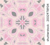 antique talavera tiles... | Shutterstock .eps vector #2032978934