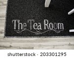 embroidery on the carpet ... | Shutterstock . vector #203301295