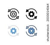 sync setting icon. simple...
