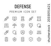 premium pack of defense line...