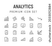 premium pack of analytics line...