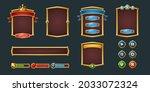 set game frames and menu...