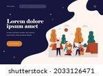 happy young people enjoying...   Shutterstock .eps vector #2033126471