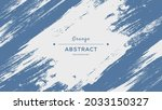 abstract white blue wall... | Shutterstock .eps vector #2033150327
