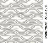 seamless ripple pattern.... | Shutterstock .eps vector #203315941