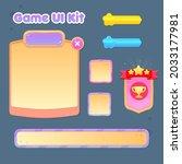 game ui set pop up window...