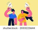 advertisement  announcement and ...   Shutterstock .eps vector #2033223644