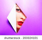 make up makeup | Shutterstock . vector #203324101