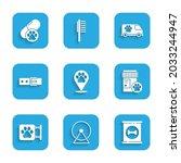 set location veterinary ... | Shutterstock .eps vector #2033244947