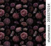 unusual floral summer seamless... | Shutterstock . vector #2033275214