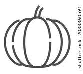 pumpkin  square line vector...   Shutterstock .eps vector #2033360591