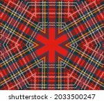 unusual interpretation of... | Shutterstock .eps vector #2033500247